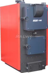 Твердопаливний котел Kalvis 140 (на ручному завантаженні палива)