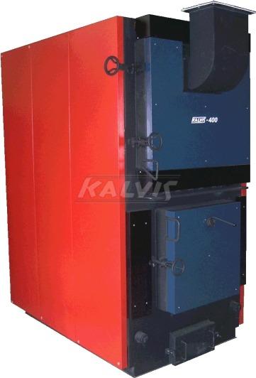 Твердотопливный котел Kalvis 400 (с ручной загрузкой топлива)