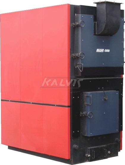 Твердопаливний котел Kalvis 500 (на ручному завантаженні палива)