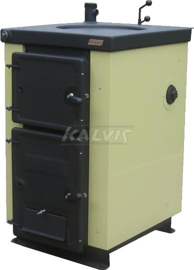 Твердопаливний котел-плита Kalvis 4B Solo (з регулятором тяги)