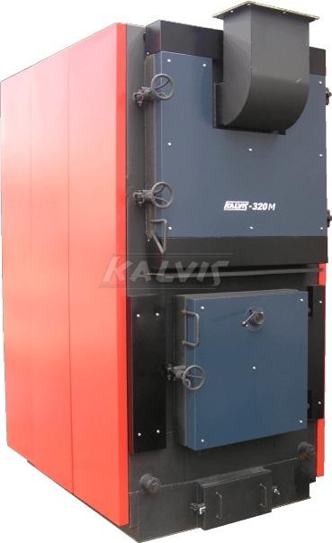 Твердотопливный котел Kalvis 500M (с механизированной подачей топлива)