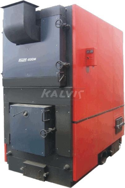 Твердопаливний котел Kalvis 600M (з механізованою подачею палива)