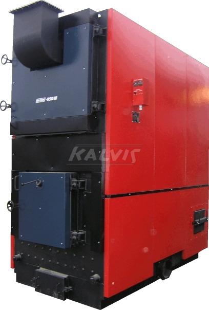 Твердопаливний котел Kalvis 950M (з механізованою подачею палива)