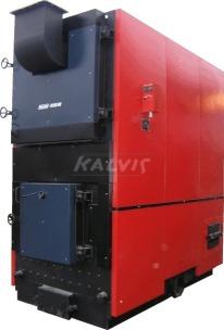 Твердотопливный котел Kalvis 950M (с механизированной подачей топлива)