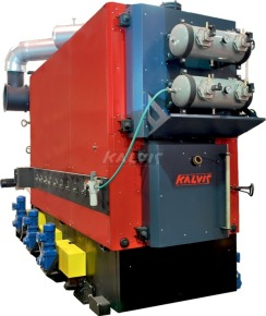 Твердотопливный котел Kalvis 320M1 (с автоматической подачей топлива)