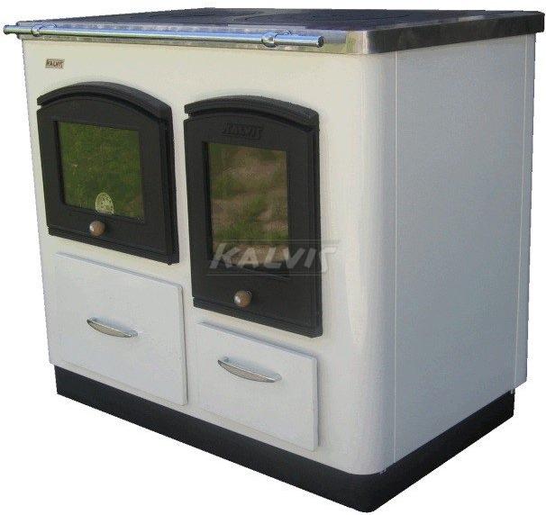 Твердопаливний котел-плита з духовкою Kalvis 4ASB-1N