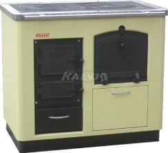 Твердопаливний котел-плита з духовкою Kalvis 4ASB